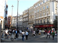 Free London Events - Talk the Walk London - Cranbourn Street